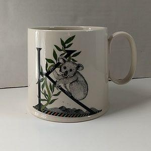 "Anthropologie Balducci Monogram ""K"" Koala Mug"